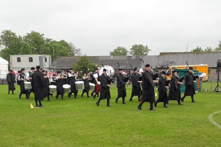 The Rothesay and District Pipe Band travelled to Paisley on Saturday for the British Pipe Band Championships and gained 4th place in grade 4a.