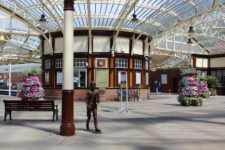 Wemyss Bay station.
