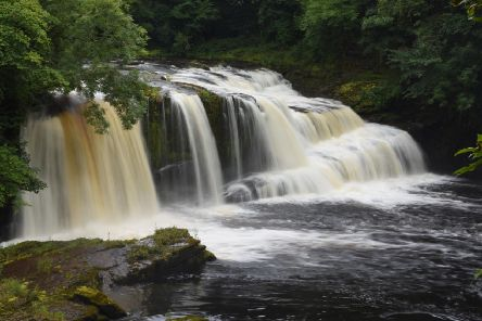 Falls of Clyde near proposed quarry site