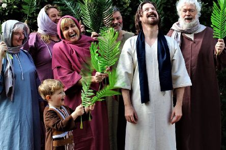 Professional actor Nicholas Elliott leads the cast of 'The People's Passion'in the role of Jesus