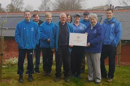 Castlebank Park team win Euro Award Ap 2019