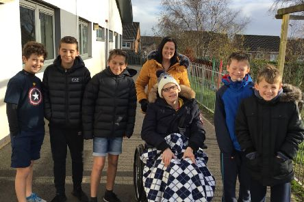 Life-long friendships...were forged thanks to the unique arts project which saw Robert Owen Memorial PS and Stanmore House pupils working together.