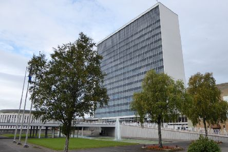 South Lanarkshire Council HQ. Photo by John Lord
