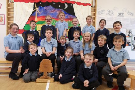 The Auchengray Primary winners