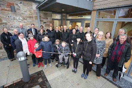 The opening ceremony of new visitor hub at Belleisle Park