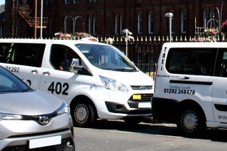 People are being advised to use taxi ranks or pre-book private hires