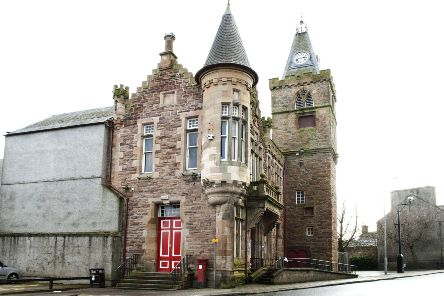 Maybole Town Hall.