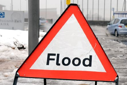 Flood warnings are in place in South Ayrshire.
