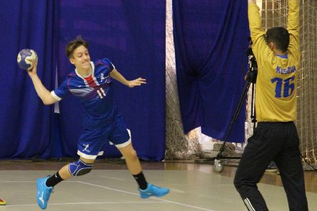 Cumbernauld teenager Craig Yule help GB under-18s win handball silver at the IHF Trophy in Kosovo