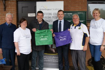 Dullatur Bowling Club hosted an invitational triples competition to raise awareness of the work of Victim Support Scotland