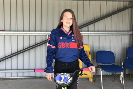 Tillie McCrum from Cumbernauld has been selected for the World BMX Championships