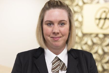 Fiona Montgomery of Fosters Family Funeral Directors