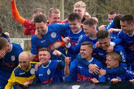 Banchory win Div 1 title after beating Deveronside 3-0. Picture: Sarah Dick