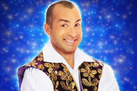 Television personality, presenter and choreographer Louie Spence will star in this year's HMT panto Cinderella.