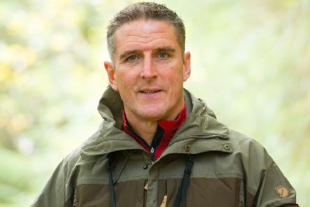Wildlife presenter Iolo Williams will give a talk at the Community Theatre in Aboyne on Saturday, November 2