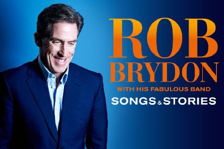 Rob Brydon is heading to the Music Hall in Aberdeen in April next year