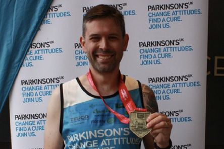 Andy Musselwhite raised more than �2000 for Parkinson's UK from the London Marathon
