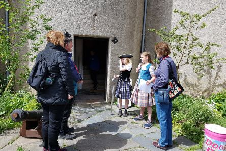 Braemar Primary kids will be taking on the role of tour guides at Braemar Castle