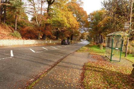 The 40mph speed limit follows road safety concerns at Milton of Crathes