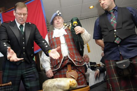 The tradition of the Burns Supper on January 25, the anniversary of the poet's birth, has been calculated to have a turnover of �11 million in Scotland.