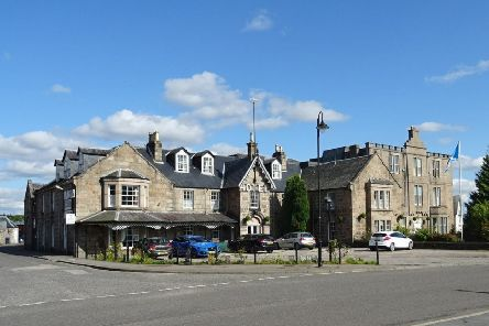The Huntly Arms Hotel in Aboyne