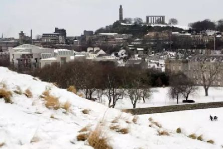 Edinburgh and the Lothians could see snow on Easter Monday. Picture: John Devlin