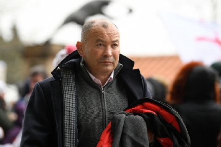 England rugby head coach Eddie Jones was subjected to verbal abuse at a Manchester station. File picture: Getty Images