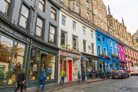 Edinburgh might feel chilly today, but temperatures will rise again (Photo: Shutterstock)