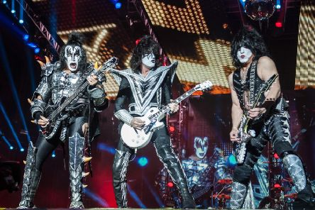 The US rockers said last month that they were hitting the road in 2019 for a final world tour, which would celebrate their 45-year career. Picture: Katja Ogrin/PA Wire.