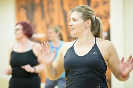 The new project, Active Mums, offers two months of free group fitness sessions. Picture: Edinburgh Leisure