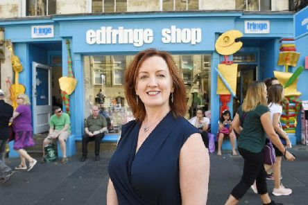 Shona McCarthy was appointed chief executive of the Fringe Society three years ago.