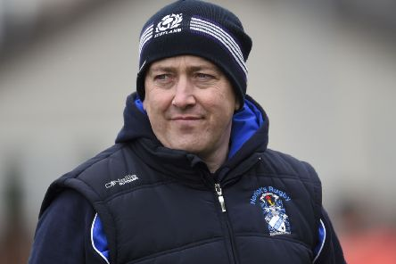 Heriot's head coach Phil Smith takes his team to Jed-Forest