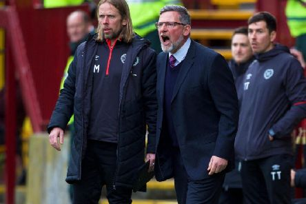 Craig Levein was left ruing two mistakes.