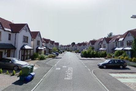 Muirfield Station in Gullane where the incident took place. Picture: Google Street View