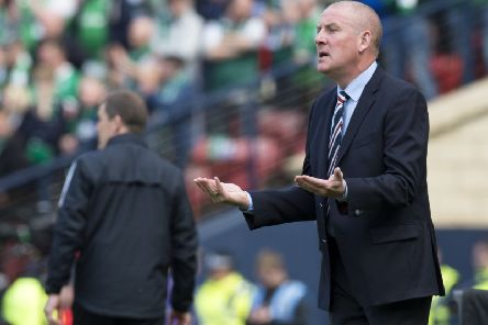 Mark Warburton believes Rangers should have beaten Hibs in the 2016 Scottish Cup final. Picture: SNS Group