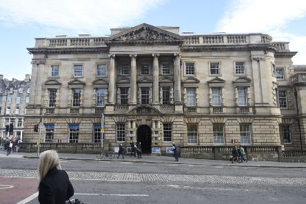 The French Institute by George IV Bridge which was given to the French by the Council to use. Pic: Greg Macvean