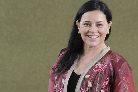 Outlander author Diana Gabaldon is to appear at an exclusive fan event at Hopetoun House. Pic: Greg Macvean