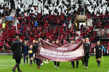 Foundation of Hearts are getting ready to own the Tynecastle Park club
