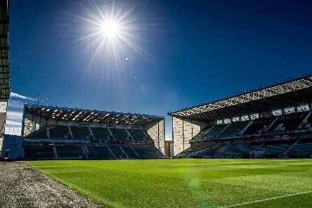 A general view of sunshine on Leith at Easter Road