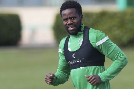 Milking it: Gael Bigirimana has revealed how a shopping trip gave him a chance in UK football. Picture: SNS Group