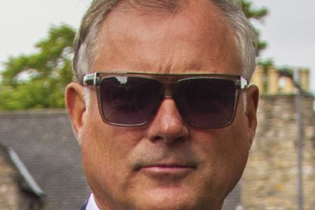 John Leslie. Picture: SWNS