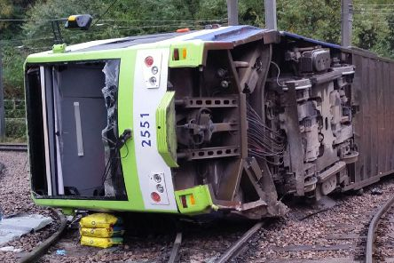 The Croydon tram disaster claimed the lives of 7 people in 2016. Picture: PA