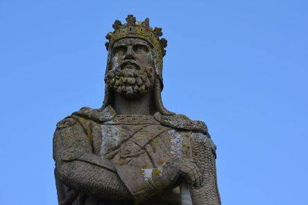 Robert the Bruce was crowned King of Scots on March 25 1306. PIC: Creative Commons/Flickr/Aaron Bradley.