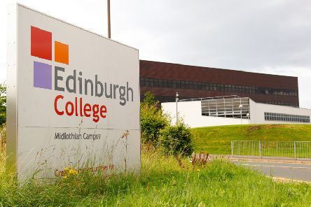 The new indoor firearms range is set to open close to the Edinburgh College Midlothian Campus on Dalhousie Road. Picture: Scott Louden
