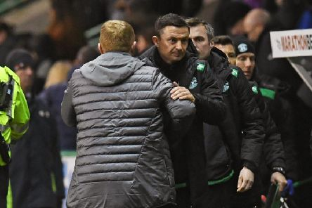 Paul Heckingbottom will face Neil Lennon this weekend. Picture: SNS