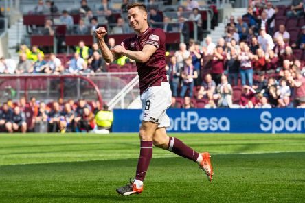 Steven MacLean impressed after coming on as a sub for Hearts