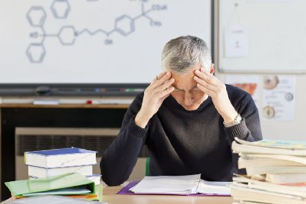 An angry inbox is adding to stress for many staff. Picture: Juice/Rex/Shutterstock
