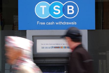 Dozens of TSB banks across the country are to go on reduced hours. Picture: PA