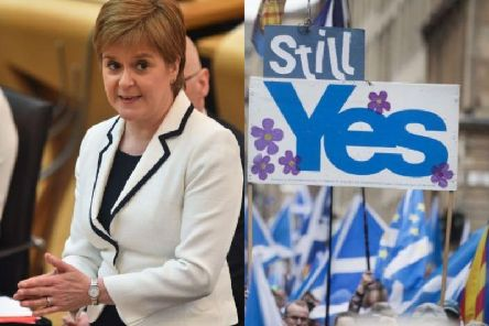 Nicola Sturgeon talked to MSPs about the timing for a second independence referendum.