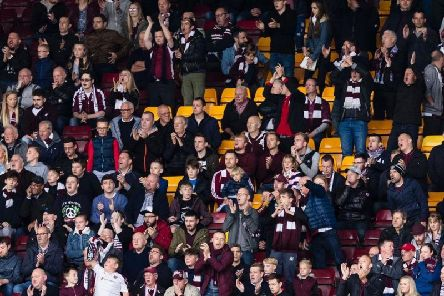 Hearts fans have had issues purchasing tickets this morning